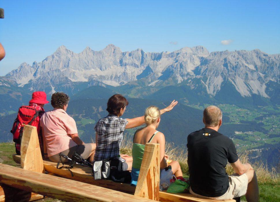 Image: Ein Blick über unsere Bergwelt.