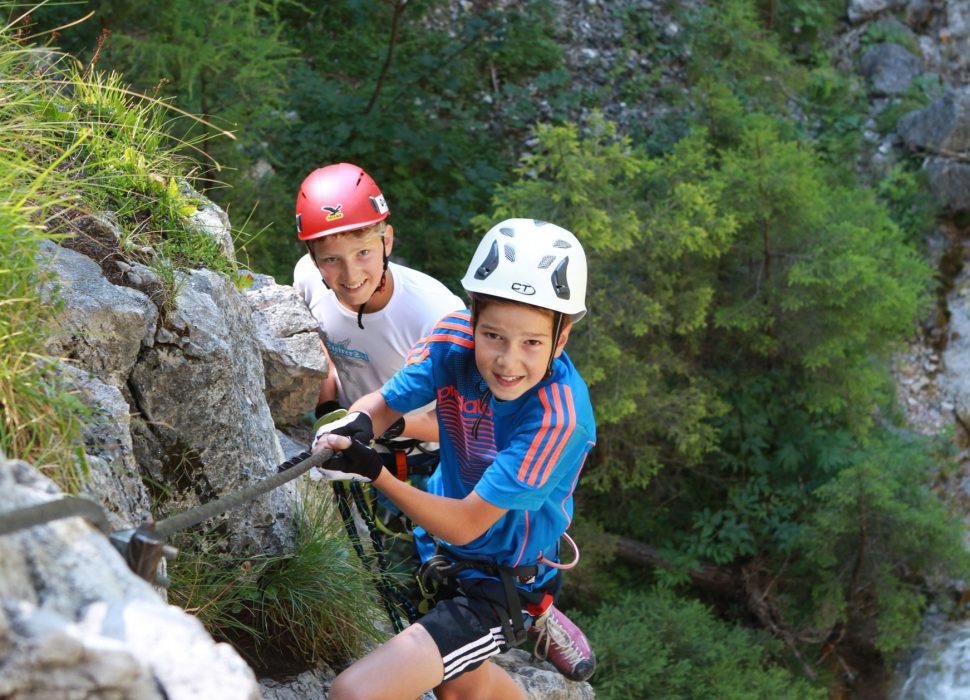 Image: Schnupper-Kletterkurse für Kinder.