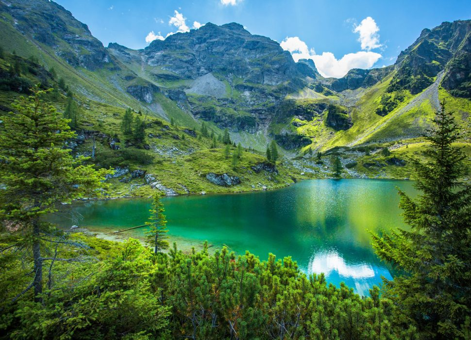 Image: Traumhafte Seen, glasklares Wasser.