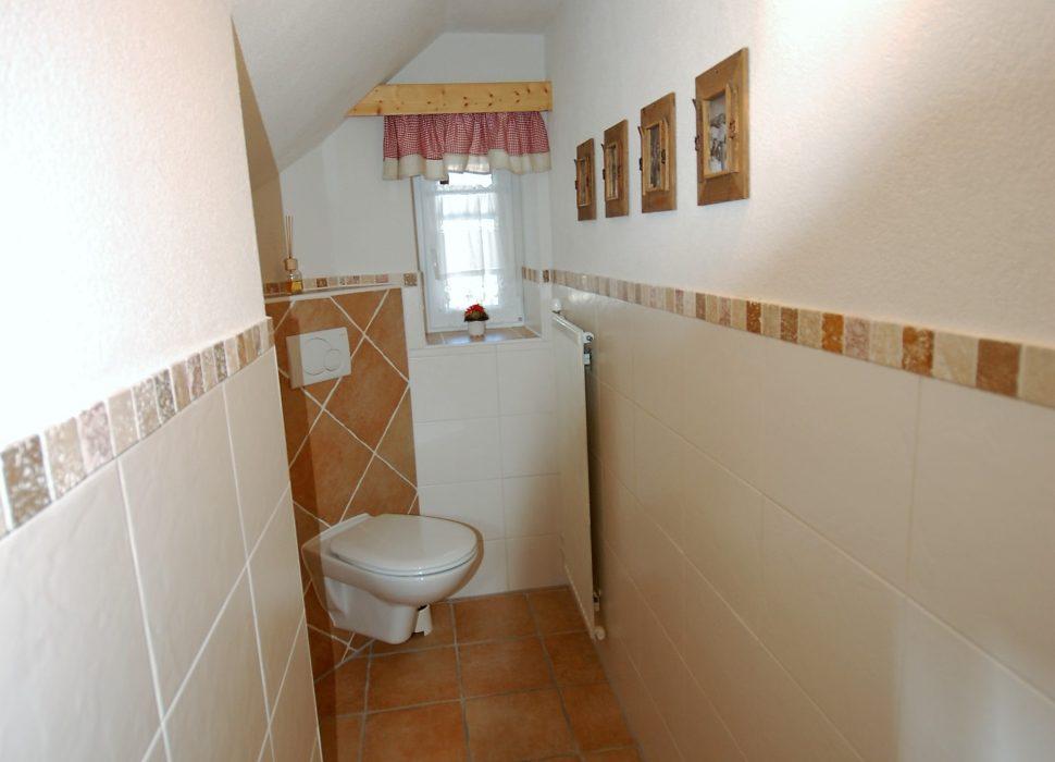 Image: Insgesamt gibt es drei Toiletten.