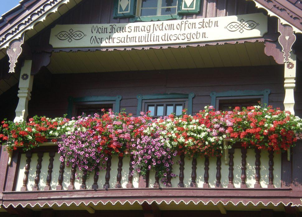 Image: Liebevoll renoviert das alte Landhaus